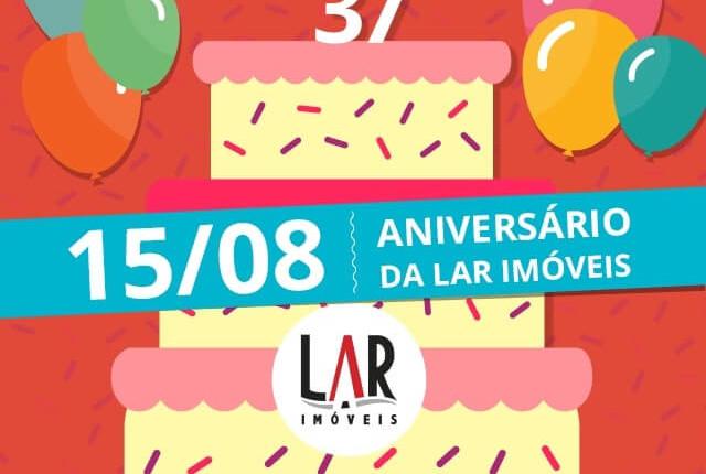 LAR Imóveis comemora 37 anos de mercado
