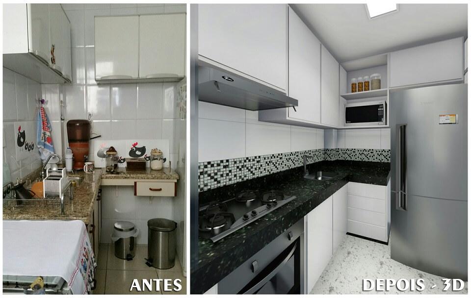 Projeto Reforma Cozinha - Lorena Cardoso