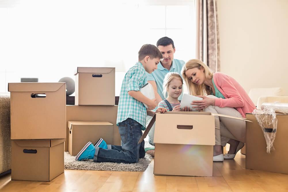 Quando escolher uma nova casa para a família?