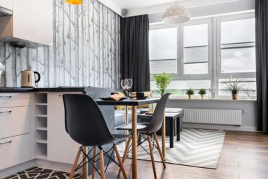 apartamento pequeno decorado com estilo moderno