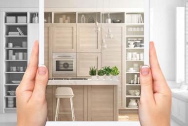 Foto que apresenta móveis planejados no dia a dia