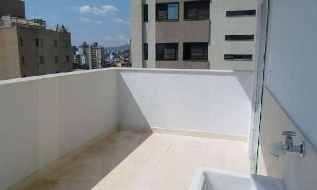 Foto Cobertura de 2 quartos à venda no Sion em Belo Horizonte - Imagem