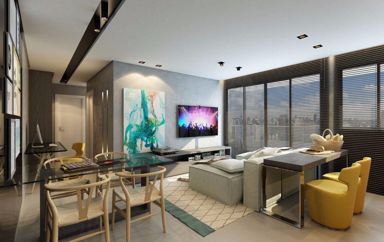Foto Apartamento de 1 quarto à venda no Funcionários em Belo Horizonte - Imagem 06