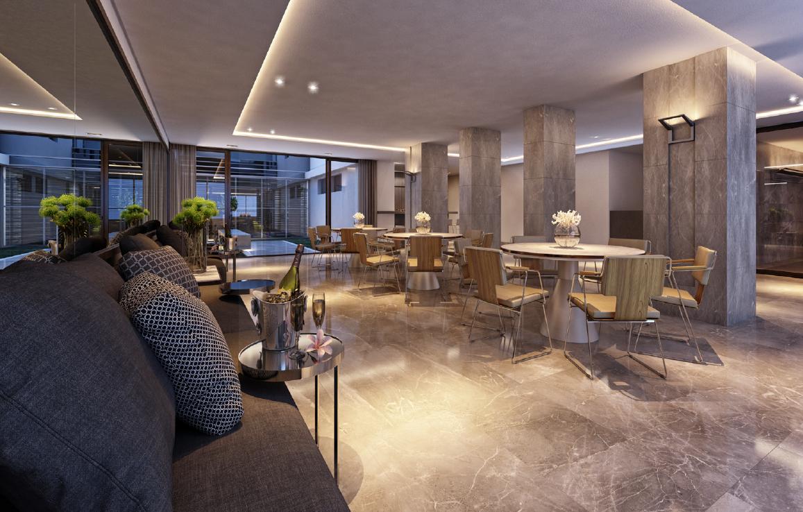 Foto Apartamento de 3 quartos à venda no Funcionários em Belo Horizonte - Imagem 05