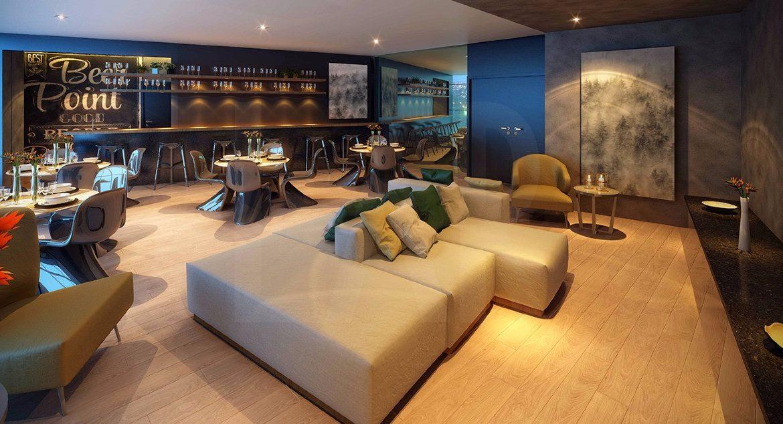 Foto Apartamento de 1 quarto à venda no Santo Agostinho em Belo Horizonte - Imagem 02