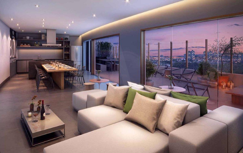 Foto Apartamento de 1 quarto à venda no Santo Agostinho em Belo Horizonte - Imagem 03