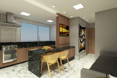Foto Apartamento de 1 quarto à venda na Savassi em Belo Horizonte - Imagem 01
