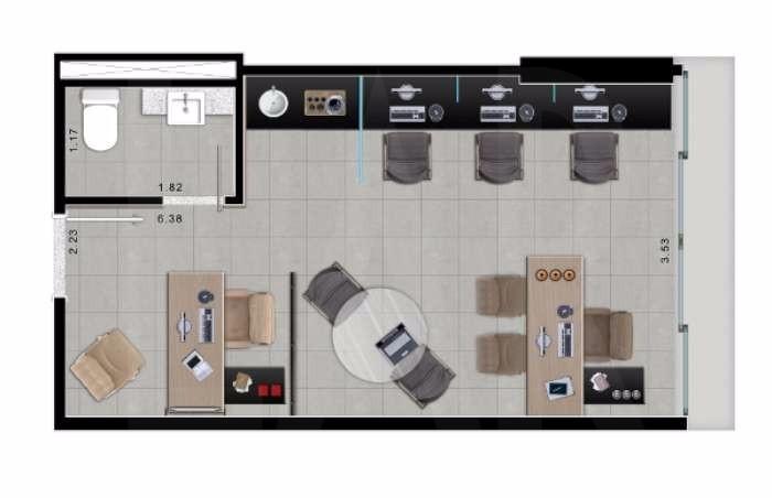 Foto Sala à venda no Vila da Serra em Nova Lima - Imagem 04