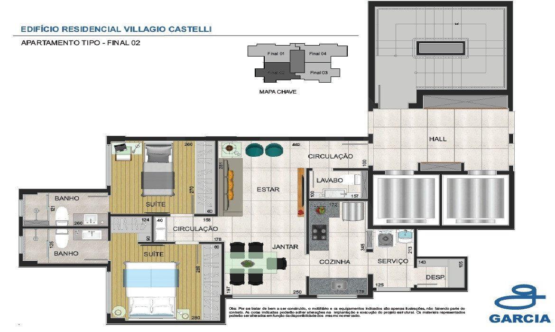 Foto Apartamento de 3 quartos à venda no Coracao de Jesus em Belo Horizonte - Imagem 03
