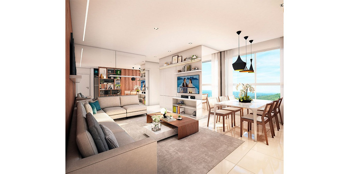 Foto Apartamento de 3 quartos à venda no Jaraguá em Belo Horizonte - Imagem 02