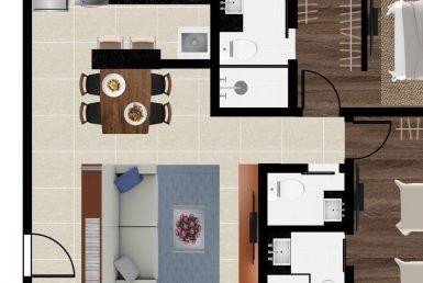 Foto Apartamento de 2 quartos à venda no Barroca em Belo Horizonte - Imagem 01