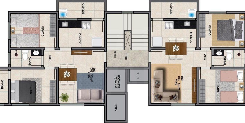 Foto Cobertura de 4 quartos à venda no Santa Mônica em Belo Horizonte - Imagem 06