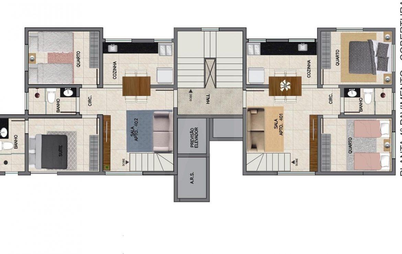 Foto Cobertura de 4 quartos à venda no Santa Mônica em Belo Horizonte - Imagem 07