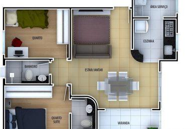 Foto Apartamento de 2 quartos à venda no Santa Terezinha em Belo Horizonte - Imagem 01