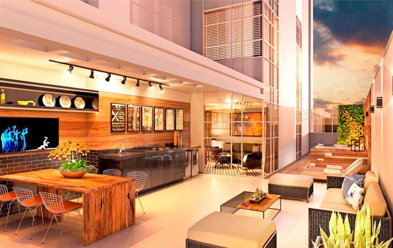 Foto Apartamento de 1 quarto à venda no Lourdes em Belo Horizonte - Imagem
