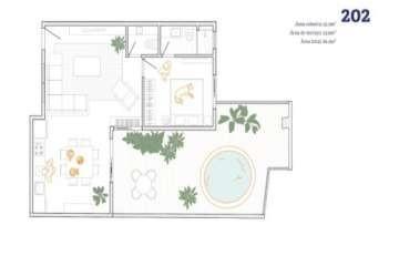 Foto Apartamento de 1 quarto à venda no Carmo em Belo Horizonte - Imagem 01