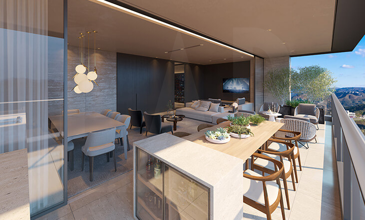 Foto Cobertura de 4 quartos à venda no Vila da Serra em Nova Lima - Imagem 05