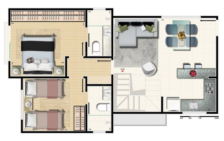 Foto Apartamento de 2 quartos à venda no Sion em Belo Horizonte - Imagem 09
