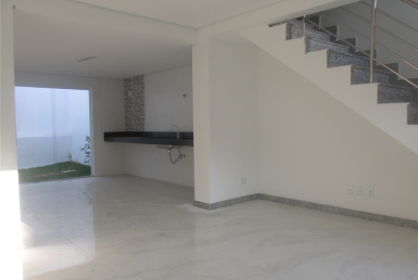 Foto Casa Geminada de 3 quartos à venda no Heliópolis em Belo Horizonte - Imagem 01