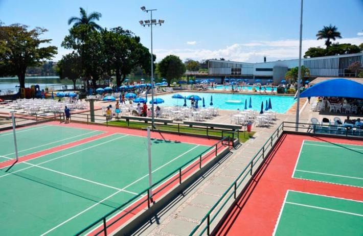Foto Flat para alugar no São Luiz em Belo Horizonte - Imagem