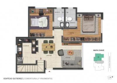 Foto Apartamento de 2 quartos à venda no Barroca em Belo Horizonte - Imagem