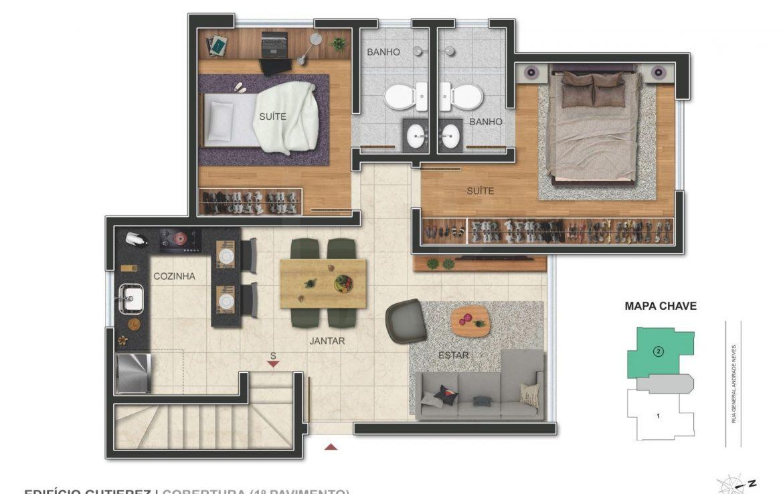 Foto Apartamento de 2 quartos à venda no Barroca em Belo Horizonte - Imagem 06