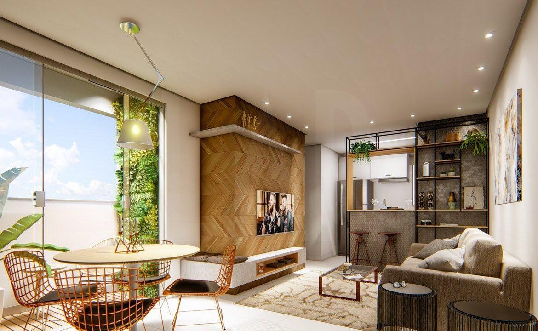 Foto Apartamento de 2 quartos à venda no Buritis em Belo Horizonte - Imagem 02