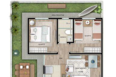 Foto Apartamento de 2 quartos à venda em Venda Nova em Belo Horizonte - Imagem 01