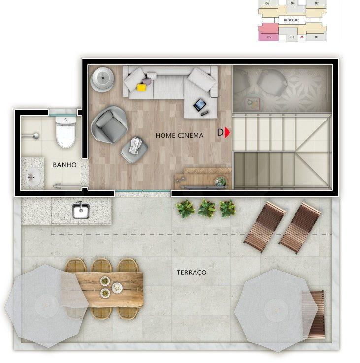 Foto Apartamento de 2 quartos à venda em Venda Nova em Belo Horizonte - Imagem 04