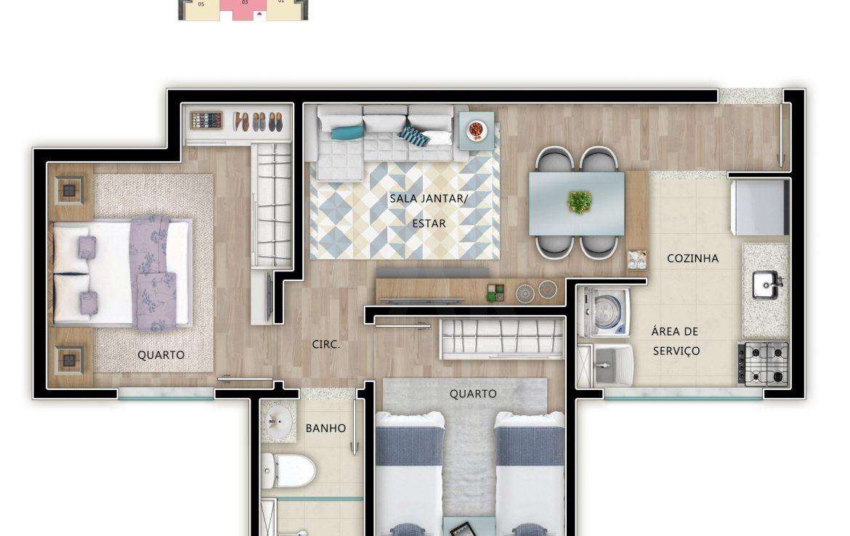 Foto Apartamento de 2 quartos à venda em Venda Nova em Belo Horizonte - Imagem 06
