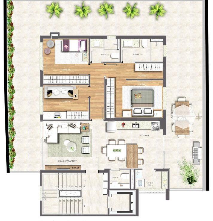Foto Apartamento de 3 quartos à venda no São Pedro em Belo Horizonte - Imagem