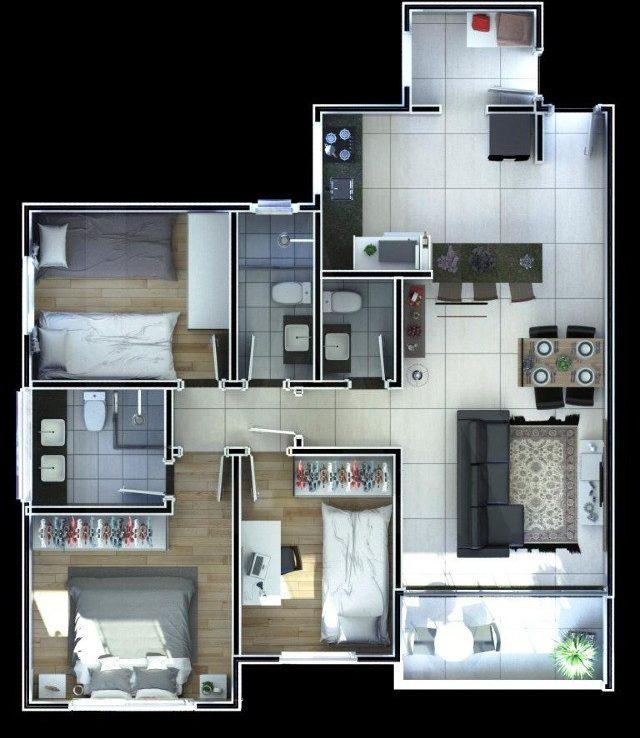 Foto Cobertura de 3 quartos à venda no Sagrada Família em Belo Horizonte - Imagem 08