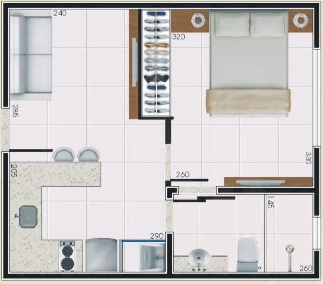 Foto Apartamento de 1 quarto à venda no OURO PRETO em Belo Horizonte - Imagem 04