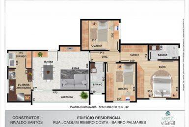 Foto do Residencial Palmares em Belo Horizonte - Imagem 01