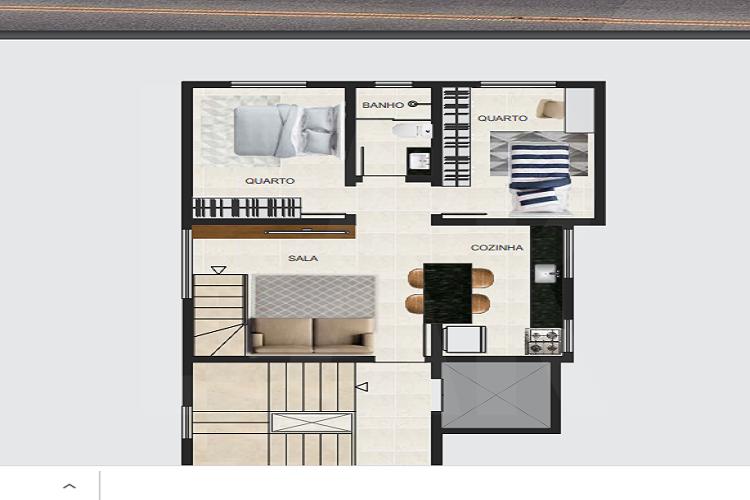Foto Cobertura de 3 quartos à venda no Santa Branca em Belo Horizonte - Imagem 02
