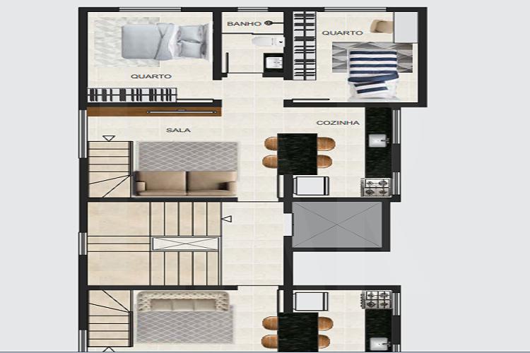 Foto Cobertura de 3 quartos à venda no Santa Branca em Belo Horizonte - Imagem 04
