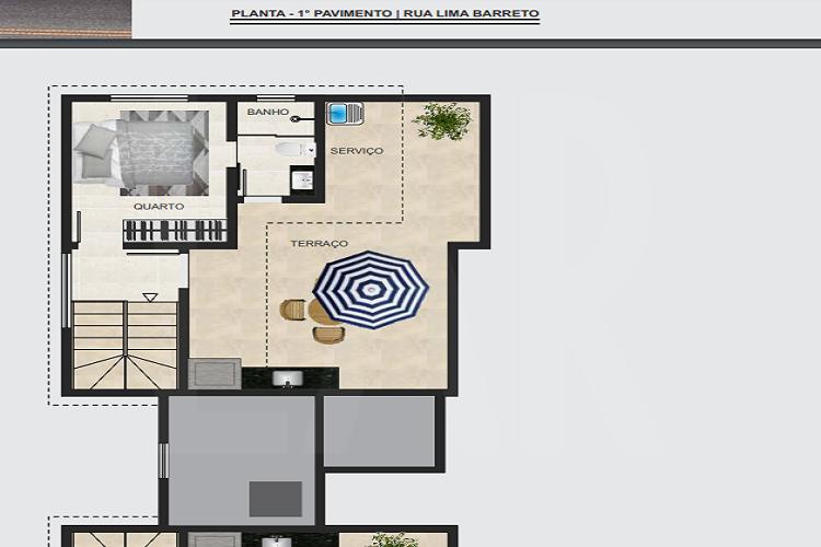 Foto Cobertura de 3 quartos à venda no Santa Branca em Belo Horizonte - Imagem 08