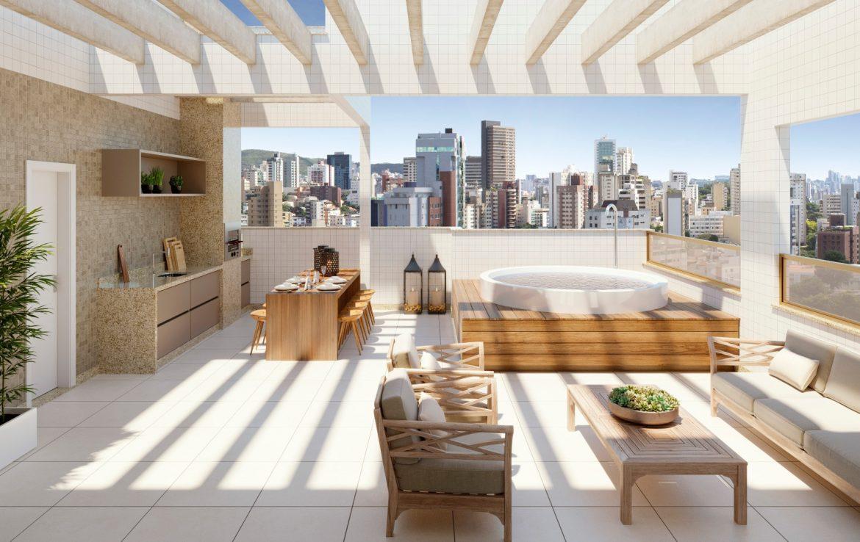 Foto Cobertura de 2 quartos à venda no Serra em Belo Horizonte - Imagem 03
