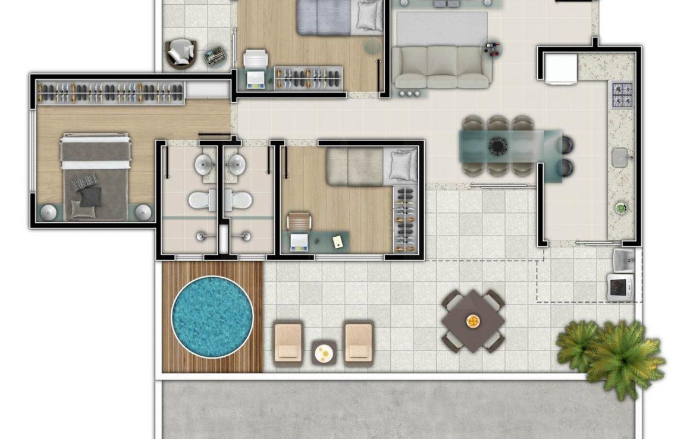 Foto Apartamento de 3 quartos à venda no Salgado Filho em Belo Horizonte - Imagem 07