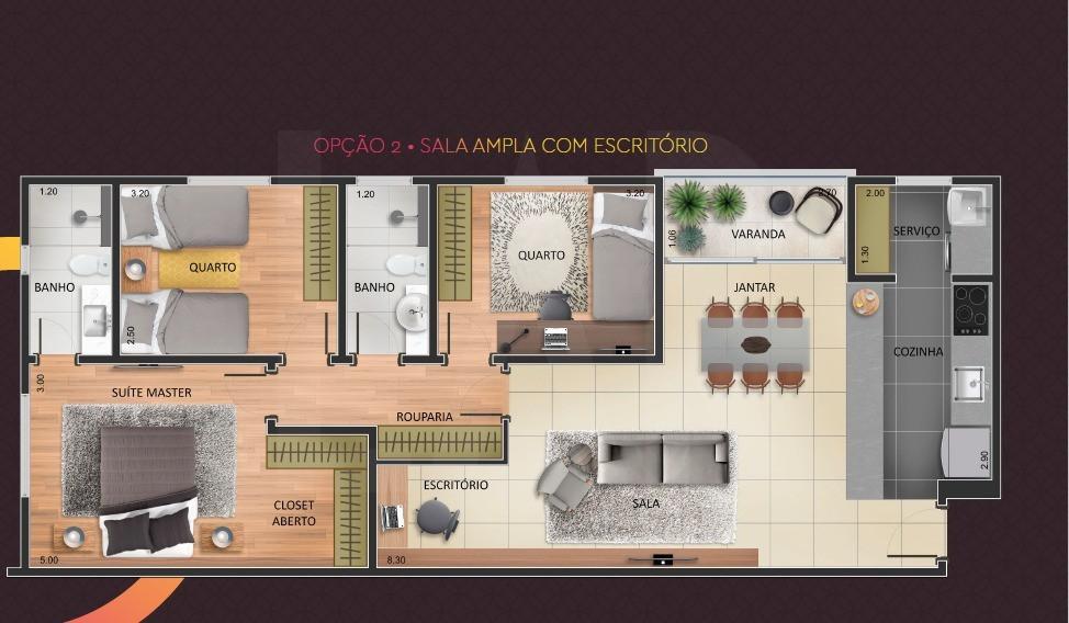 Foto Apartamento de 3 quartos à venda no OURO PRETO em Belo Horizonte - Imagem 06