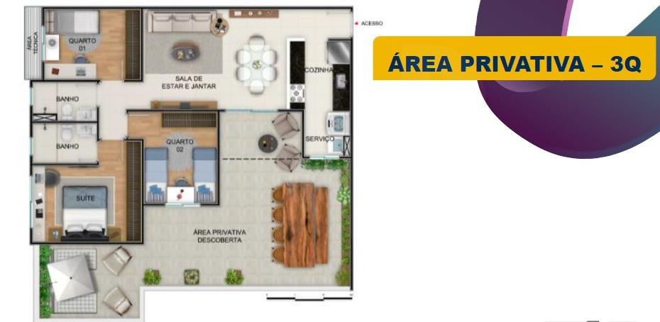Foto Apartamento de 2 quartos à venda no Nova Suíssa em Belo Horizonte - Imagem