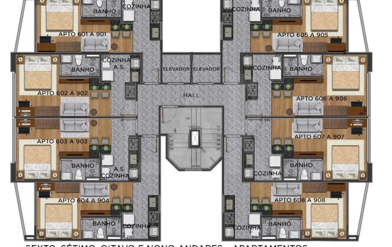 Foto Apartamento de 1 quarto à venda no Centro em Belo Horizonte - Imagem 02