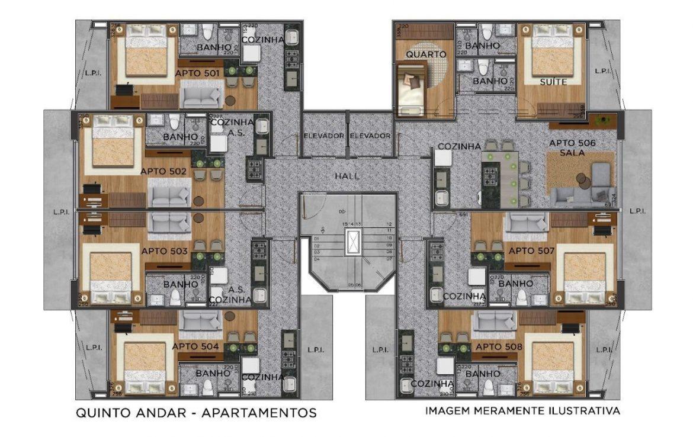 Foto Apartamento de 1 quarto à venda no Centro em Belo Horizonte - Imagem 05