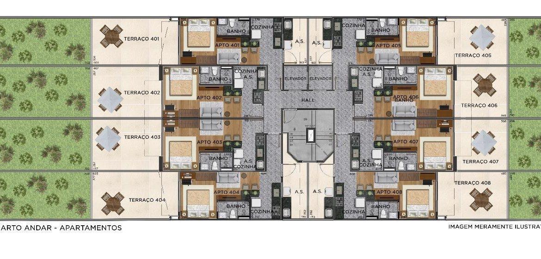Foto Apartamento de 1 quarto à venda no Centro em Belo Horizonte - Imagem 08