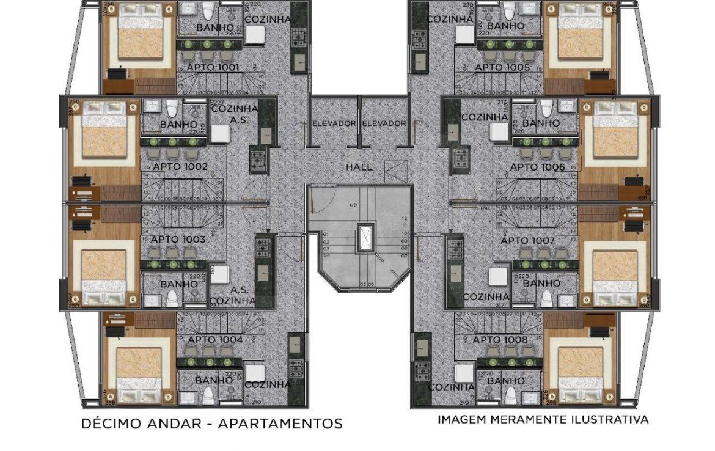 Foto Apartamento de 1 quarto à venda no Centro em Belo Horizonte - Imagem 03