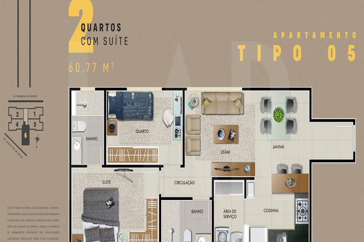 Foto Apartamento de 2 quartos à venda no Dona Clara em Belo Horizonte - Imagem 08