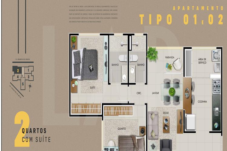 Foto Apartamento de 2 quartos à venda no Dona Clara em Belo Horizonte - Imagem 09