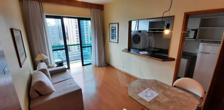 Foto Flat de 1 quarto para alugar na Savassi em Belo Horizonte - Imagem 03