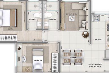 Foto Cobertura de 2 quartos à venda no Carlos Prates em Belo Horizonte - Imagem 01