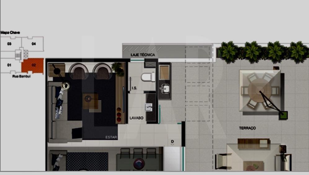 Foto Apartamento de 3 quartos à venda no Cruzeiro em Belo Horizonte - Imagem 06